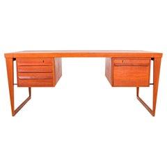Desk by Kai Kristiansen for Feldballe Møbelfabrik, 1950s