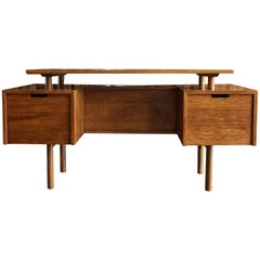 Desk by Milo Baughman for Glenn of California