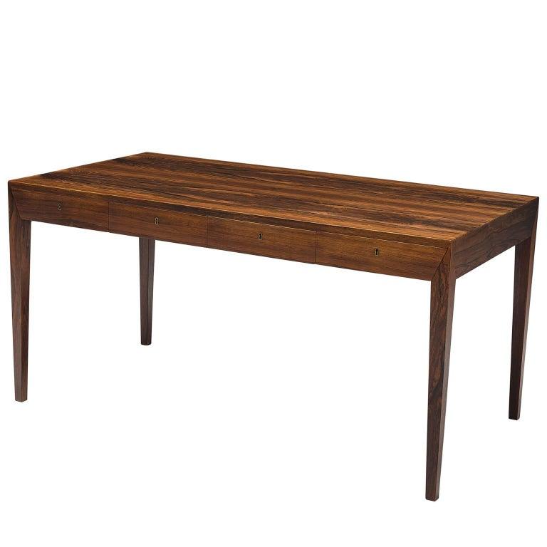 Severin Hansen Rosewood Desk by Haslev