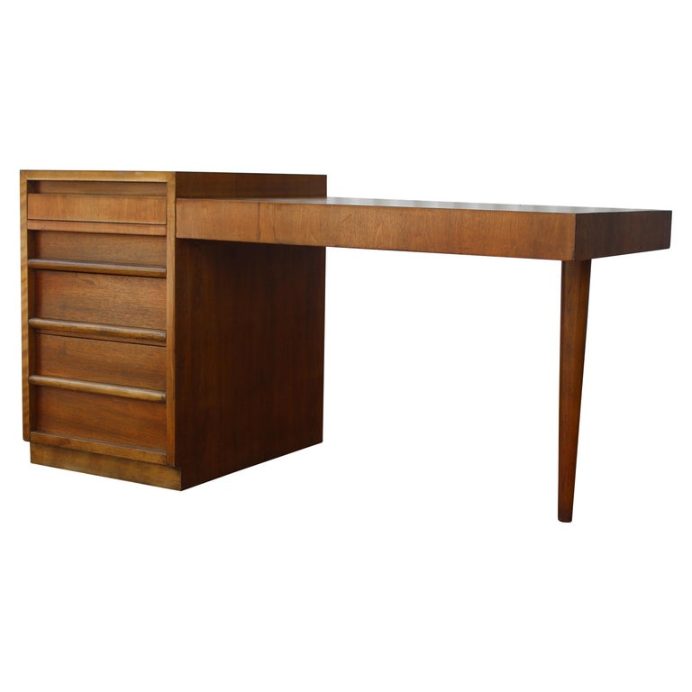 Desk by T.H. Robsjohn-Gibbings for Widdicomb, U.S.A, 1950s For Sale