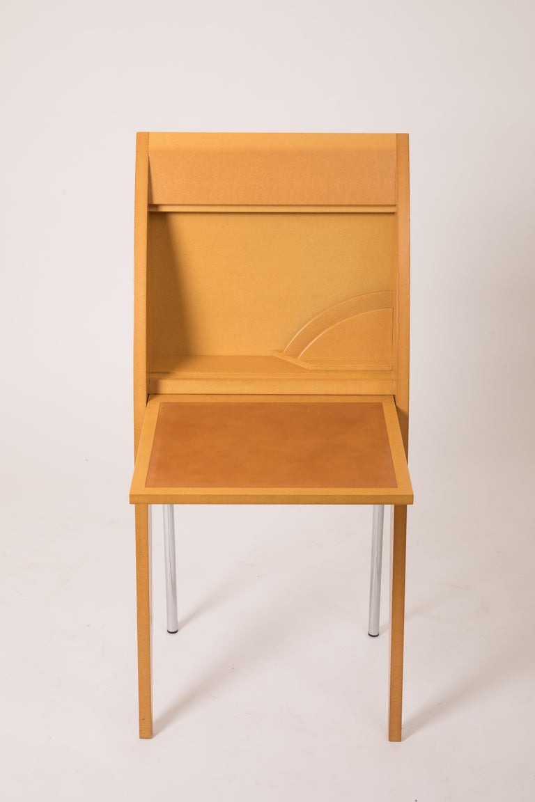 CARMA rare secretary desk designed by Thibault Desombre and edited by Transfert.