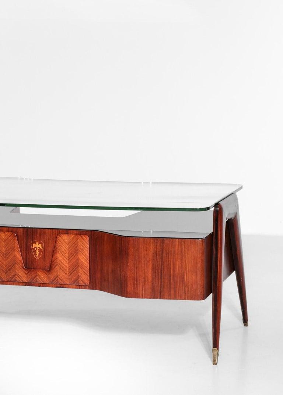 Desk by Vittorio Dassi, 1950s Italian Design For Sale 4