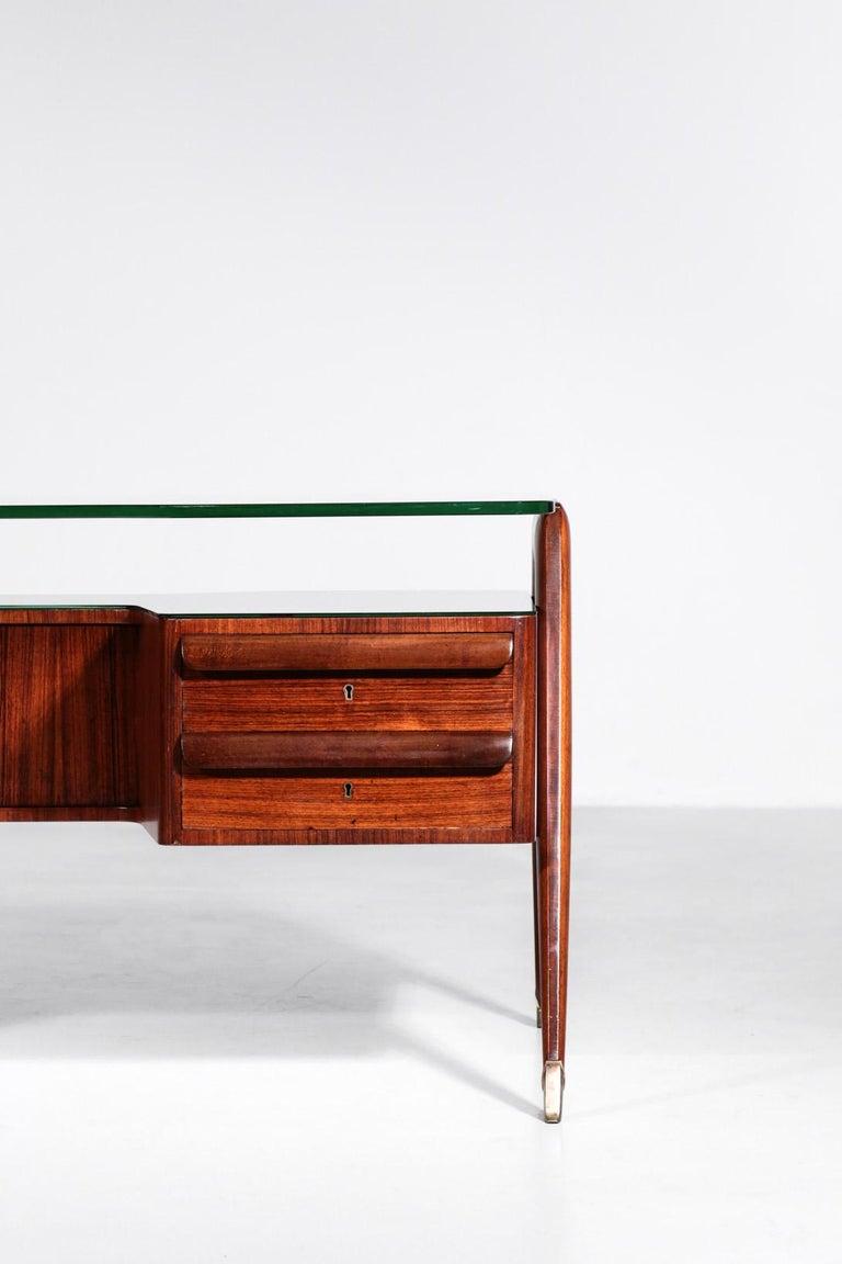 Desk by Vittorio Dassi, 1950s Italian Design For Sale 5
