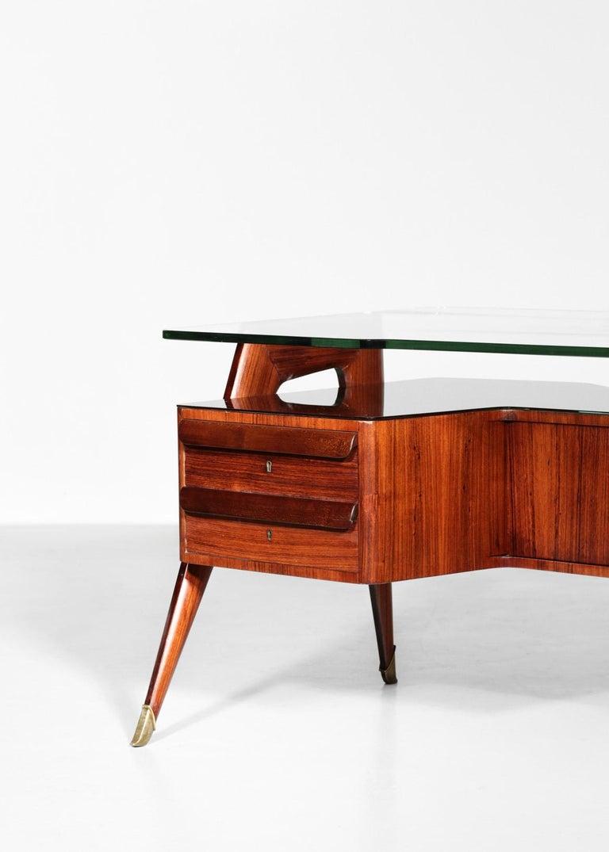 Desk by Vittorio Dassi, 1950s Italian Design For Sale 8