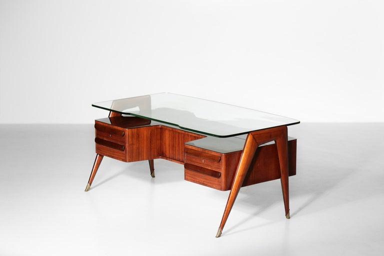 Desk by Vittorio Dassi, 1950s Italian Design For Sale 9