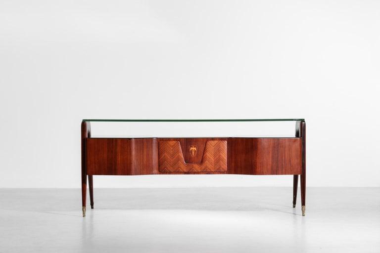Mid-20th Century Desk by Vittorio Dassi, 1950s Italian Design For Sale