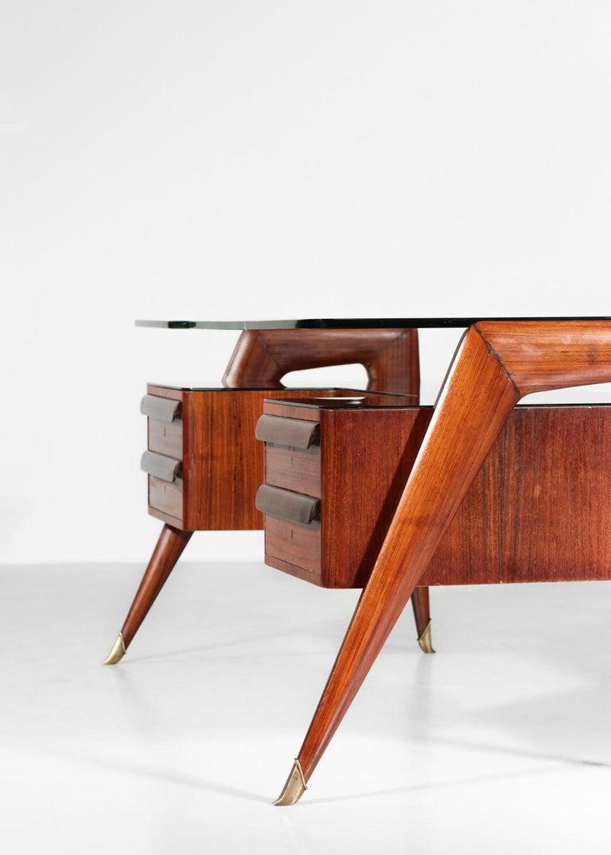 Desk by Vittorio Dassi, 1950s Italian Design For Sale 2