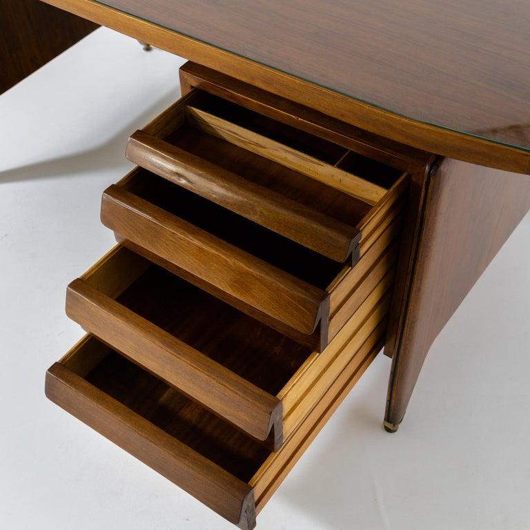 Italian Desk by Vittorio Dassi, Italy, 1950s