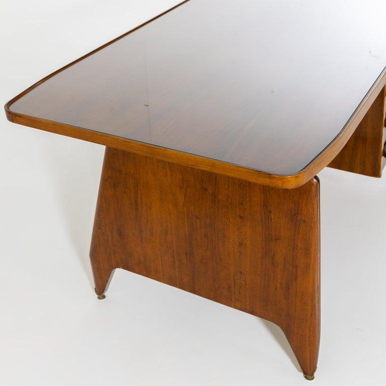 Desk by Vittorio Dassi, Italy, 1950s In Good Condition In Greding, DE
