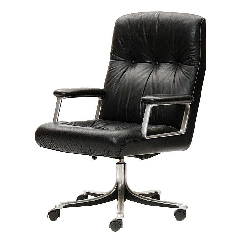 Desk Chair by Osvaldo Borsani