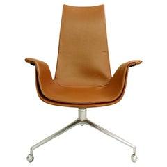 Desk Chair by Preben Fabricius & Jørgen Kastholm for Kill International, 1960s