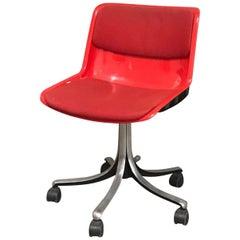 "Desk Chair ""Modus"" 1970s by Tecno Borsani"