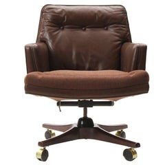 Desk Chair on Castors by Edward Wormley