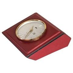 Desk Clock or Jewelry Box from Longchamp, Paris