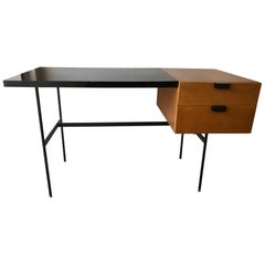 Desk CM141 by Pierre Paulin, Thonet Edition, 1954
