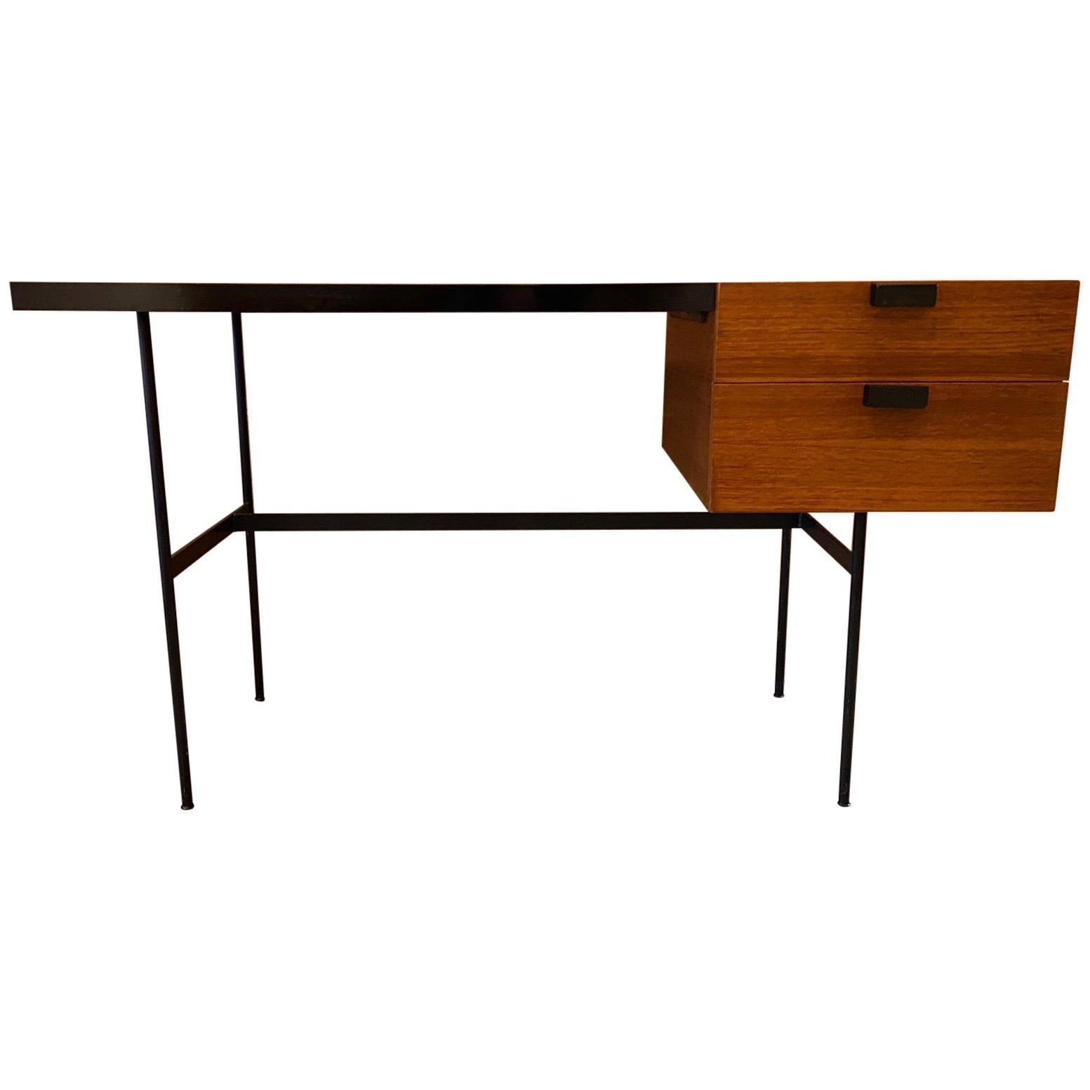 Desk CM141 by Pierre Paulin, Thonet Edition, 1954