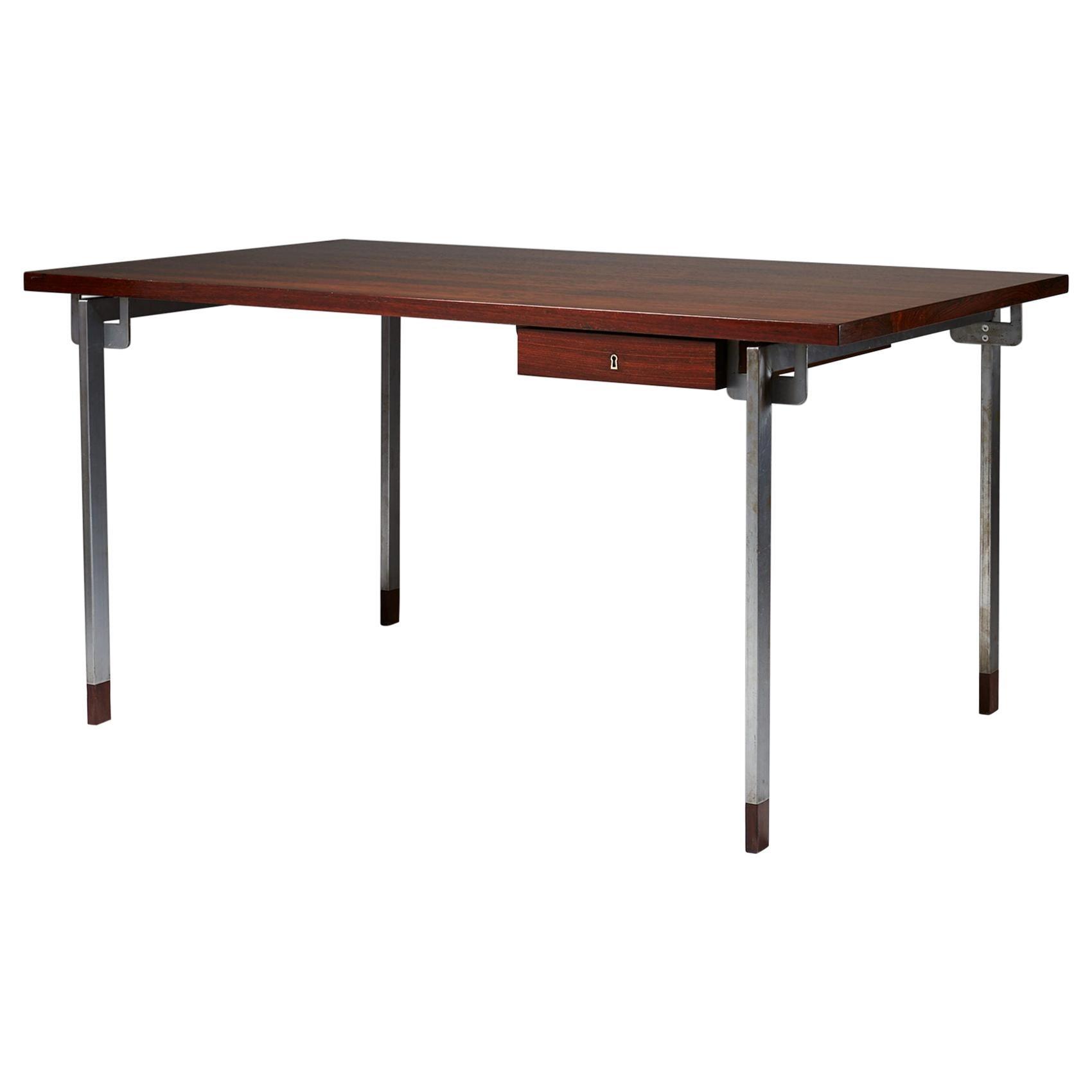 Desk Designed by Hans J. Wegner for Andreas Tuck, Denmark, 1967