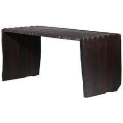 "Desk or Dining Table ""100/20"" by Vincent Vincent in Burnt Wood"