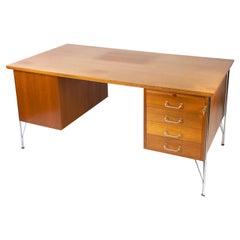 Desk in Teak of Danish Design from the 1970s