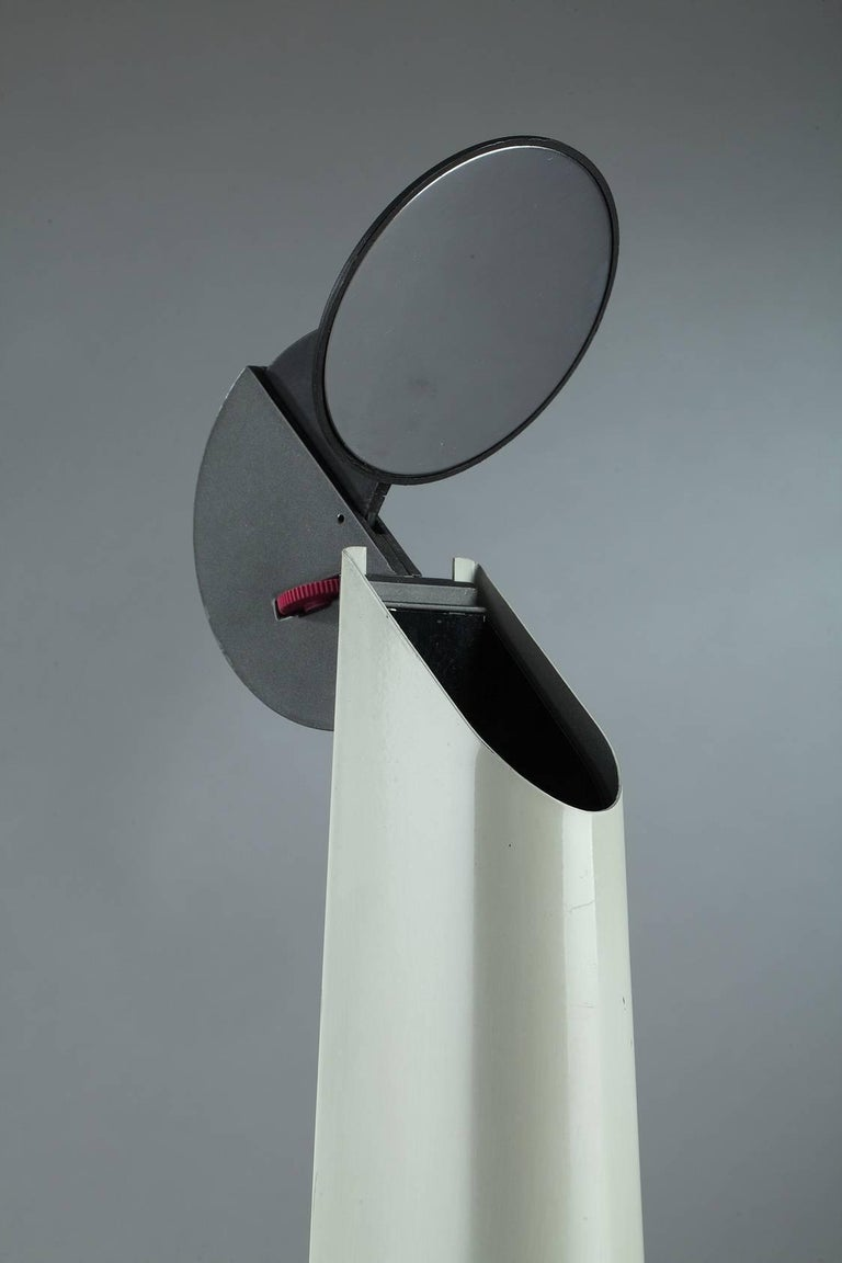 Steel Desk Lamp by Achille Castiglioni & Flos, Italy For Sale