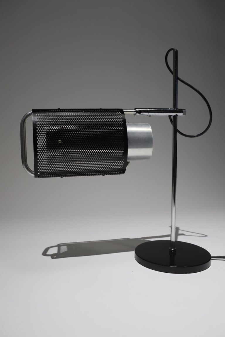 Metal Desk Lamp by George Nelson For Sale