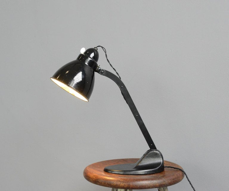 Desk Lamp by Viktoria, circa 1930s For Sale 3