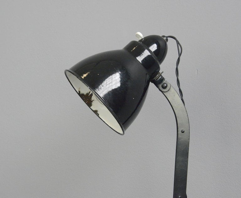 Desk lamp by Viktoria, circa 1930s