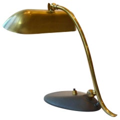 Desk Lamp / Piano Lamp Brass, 1950s