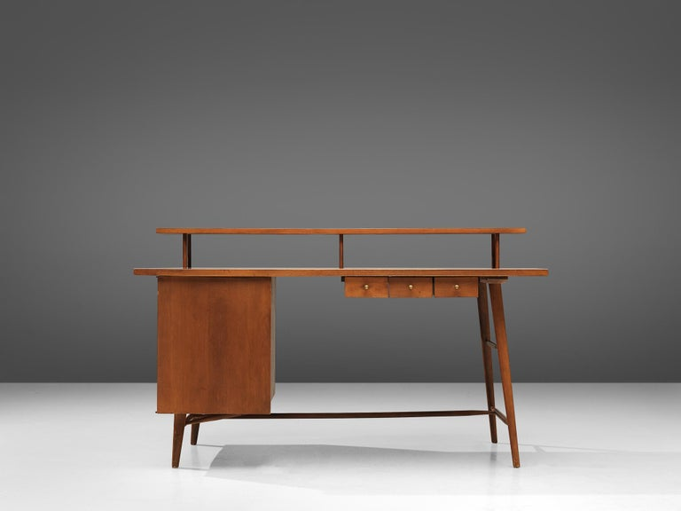 Mid-Century Modern Desk Paul McCobb Desk in Maple, 1950s For Sale