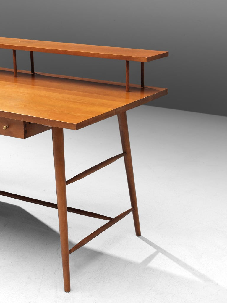 Desk Paul McCobb Desk in Maple, 1950s For Sale 2