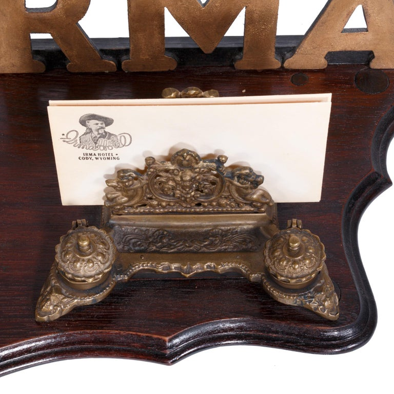 20th Century Desk Register from Buffalo Bill's Hotel in the Rockies For Sale