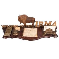 Desk Register from Buffalo Bill's Hotel in the Rockies