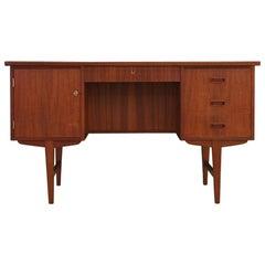 Desk Teak 1960-1970 Vintage
