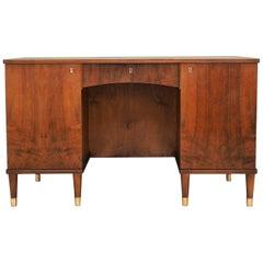 Desk Walnut, Danish Design, 1960s