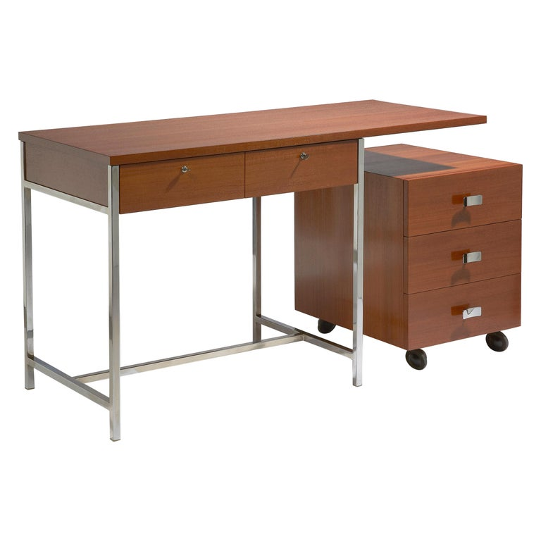 Desk with His Drawers by Antoine Philippon & Jacqueline Lecoq For Sale