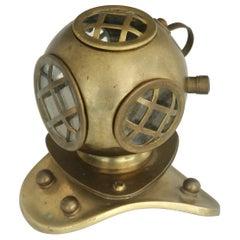Desktop Brass Diving Bell