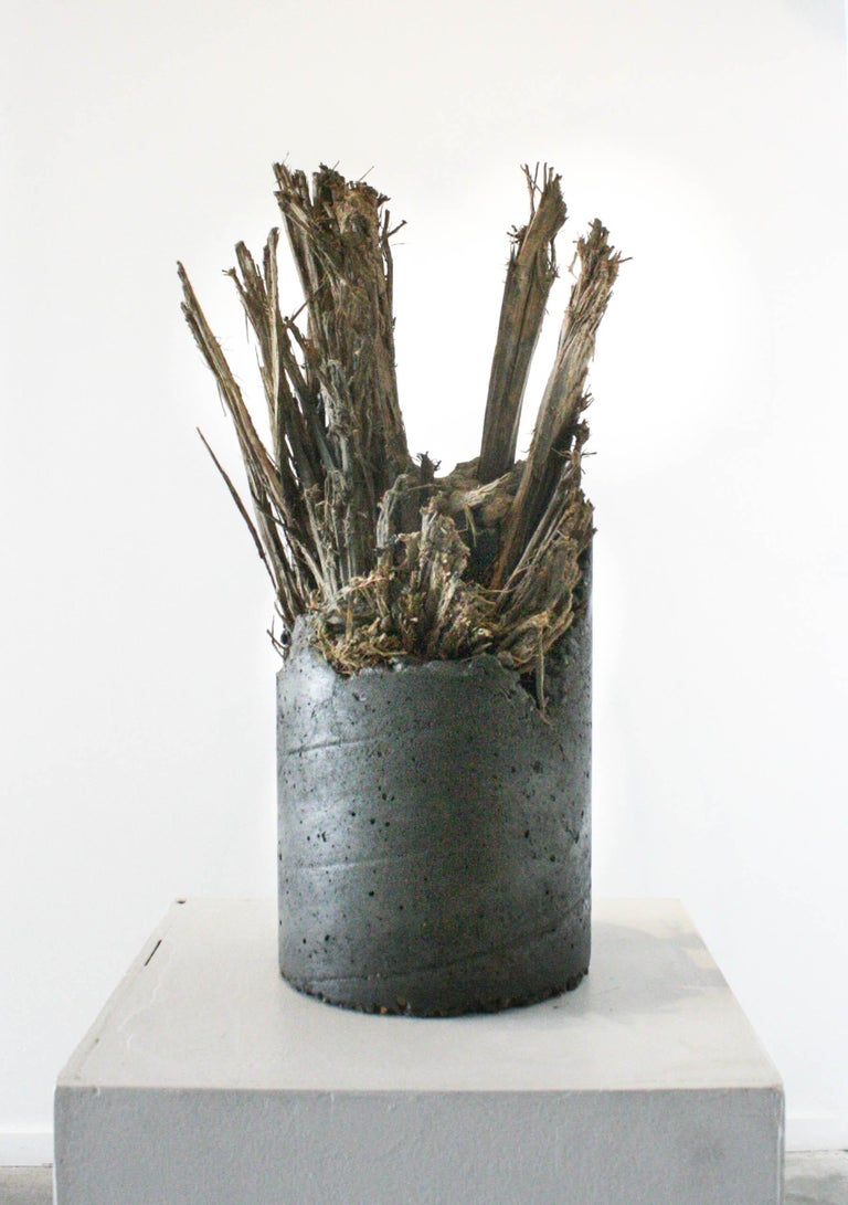 Desmond Lewis Abstract Sculpture - Raisin' Cane