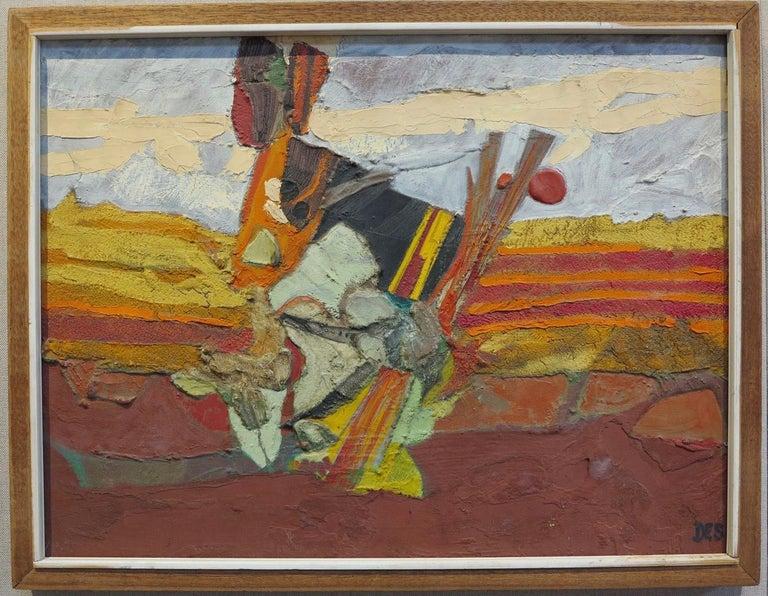 Surrealist Landscape - Painting by Desmond McLean