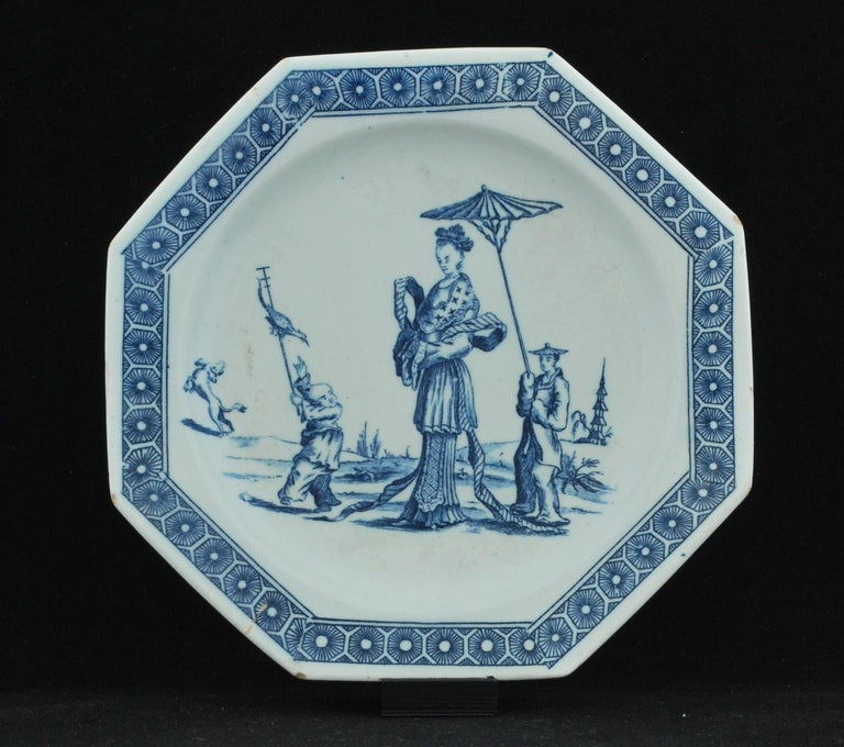 Plate, circa 1758-1760: 