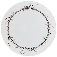 Dessert Plate by the Artists Alexia Gredy and Nicolas Ouchenir