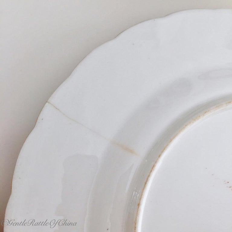 Minton Porcelain Dessert Service, Named Birds by Joseph Smith, Victorian 1851 For Sale 14