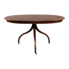 Dessin Fournir Regency Style Walnut Table