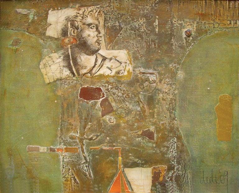 Dessislava Deneva Portrait Painting - Trace