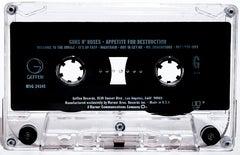 Guns N' Roses Appetite for Destruction 19x30 Pop Art Photography Cassette Tape
