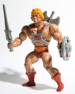 He-Man 50x60, 80's toys, Photography Pop Art Unsigned Test Print