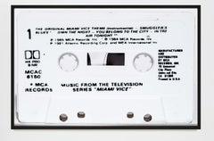 Miami Vice Soundtrack Cassette Photograph 8x12 Pop Art by Destro Photography