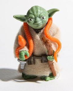 Yoda 24x30 Star Wars, 80's toys, Photography Art Pop Art Unsigned Test Print