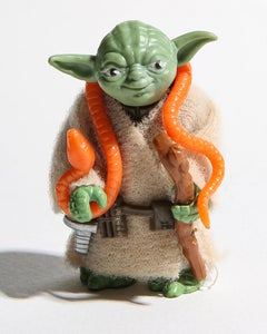 Yoda 30x40 Star Wars, 80's toys, Photography Art Pop Art Kenner Photograph