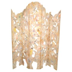 Detailed Folding Screen