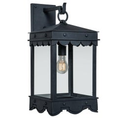 Contemporary Mediterranean Style Four-Sided Arm Mount Lantern